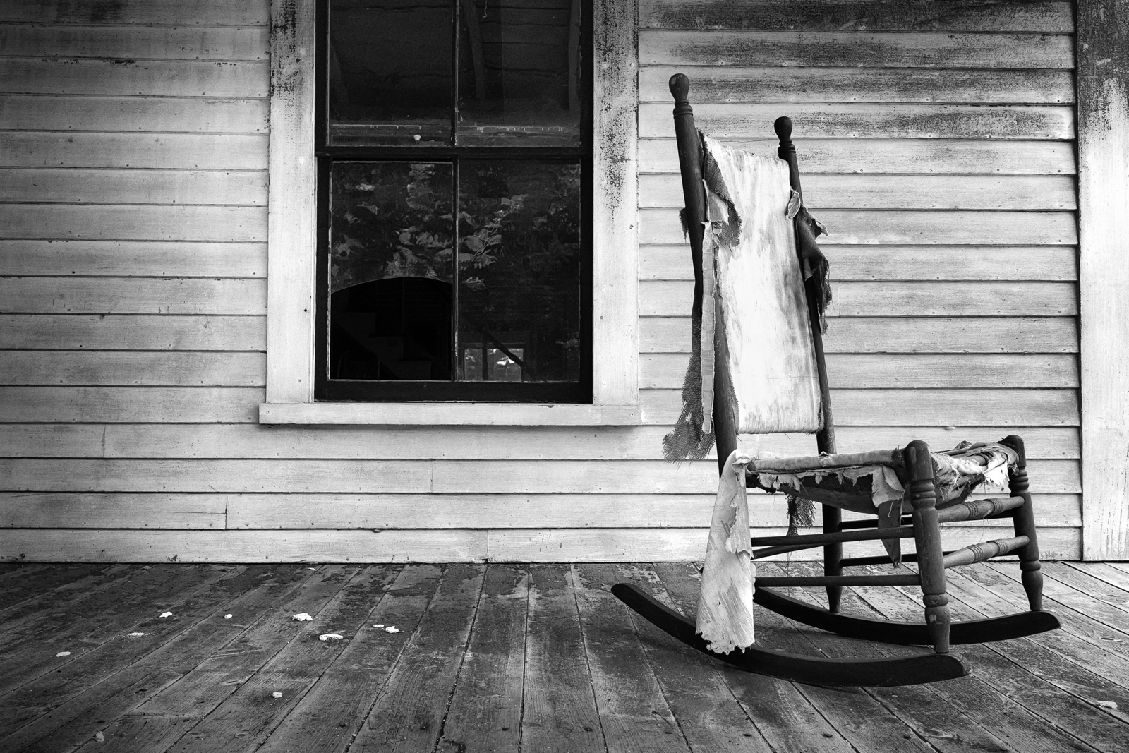Black and white chair photography - Empty Chair