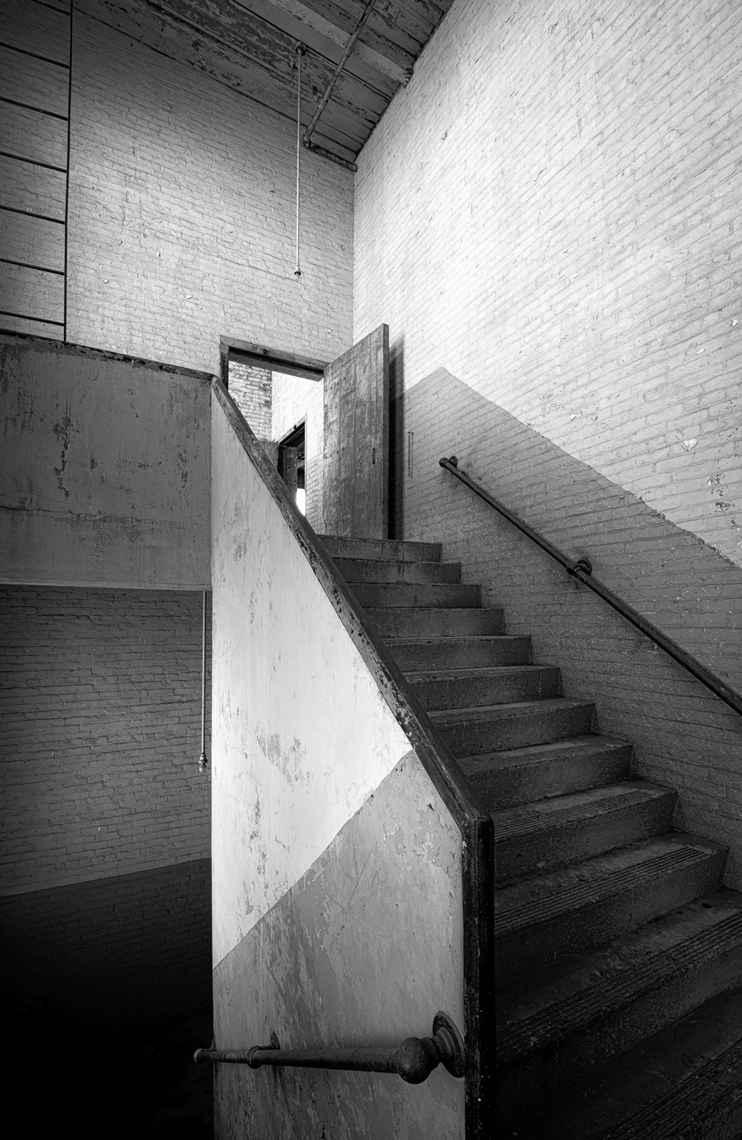 Washington Mill: Stairwell
