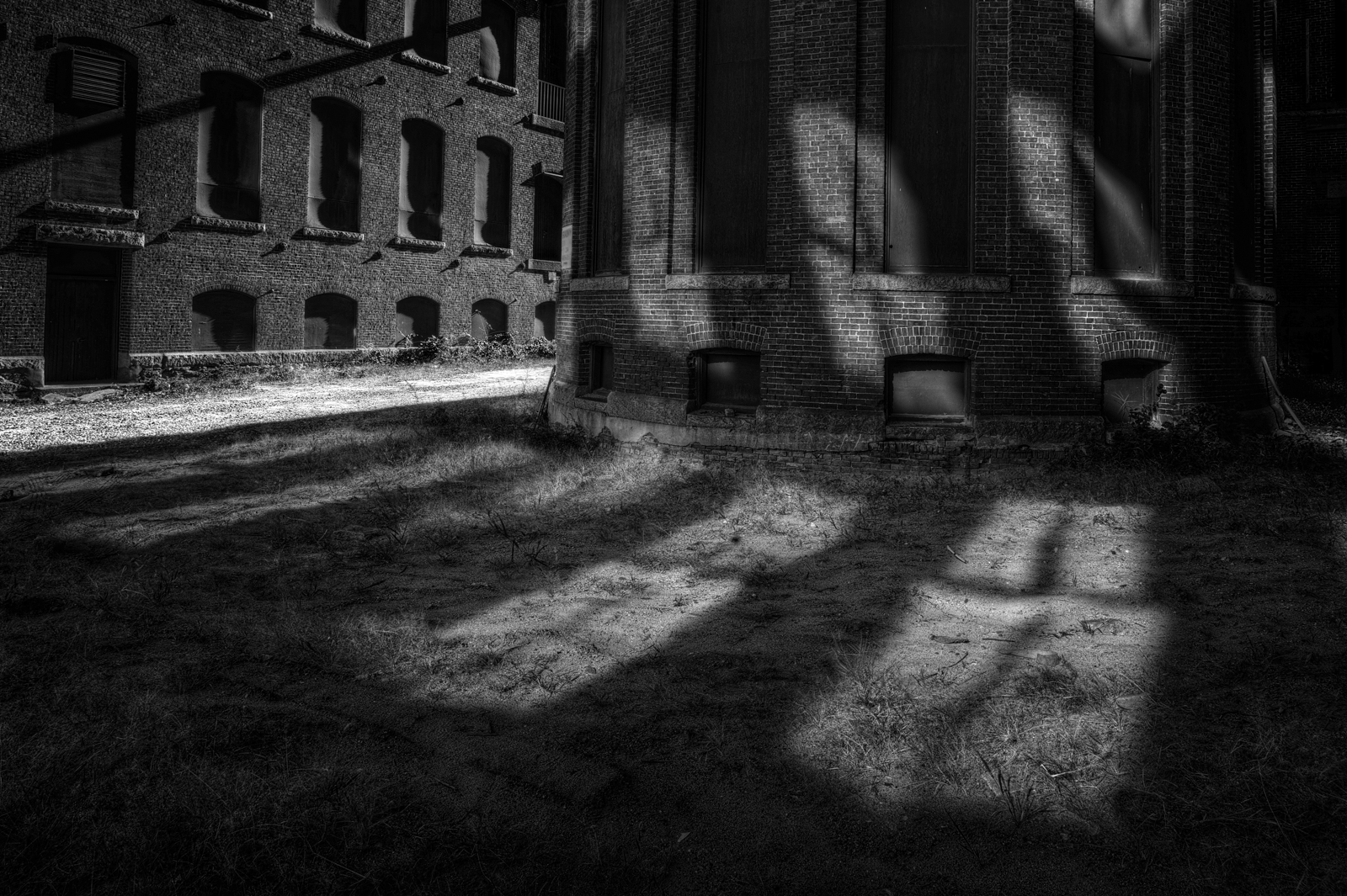 Arlington Mill: Light and Shadow