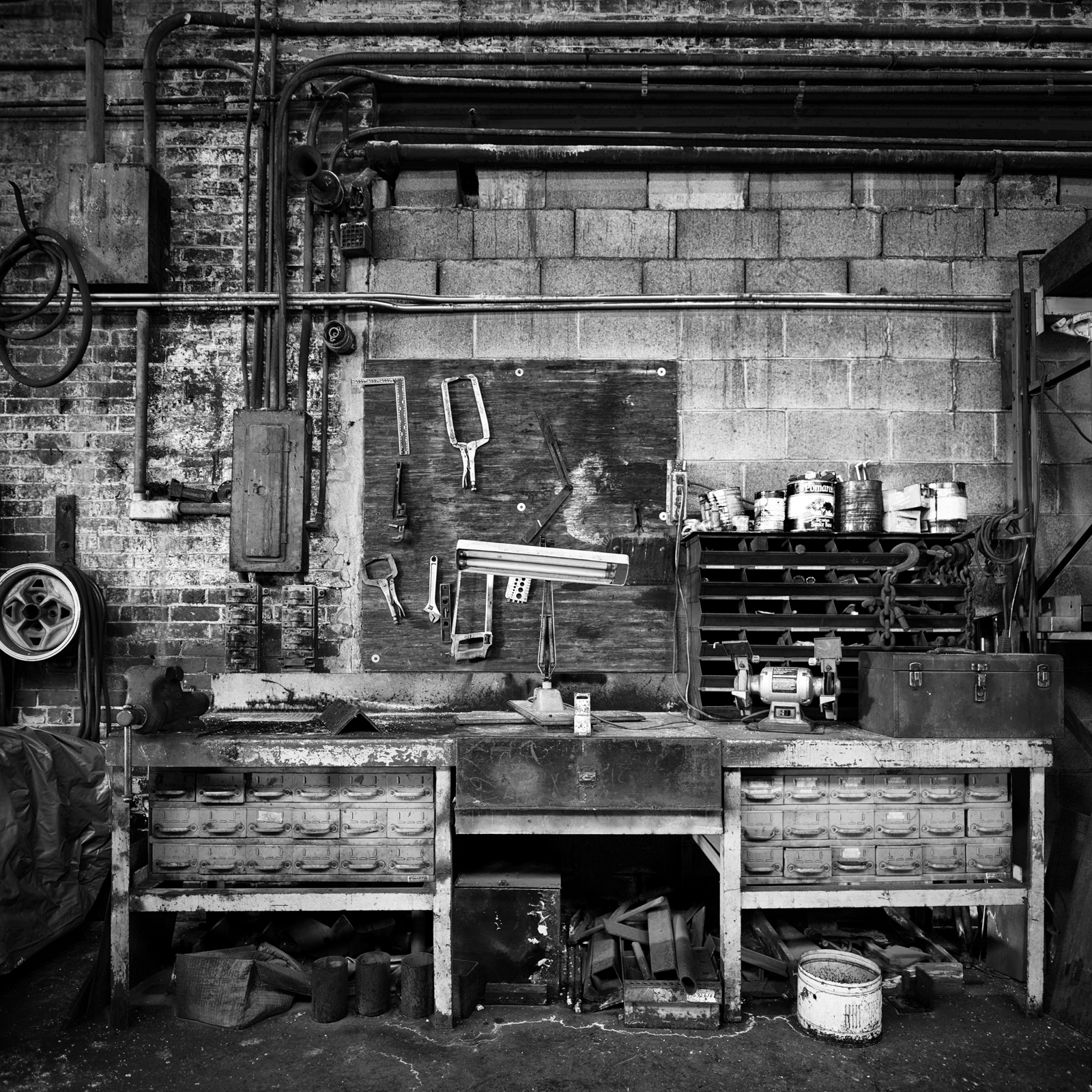 Steel Works: Work Bench