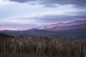 Mt Washington and the Presidential Range, White Mountains, New Hampshire