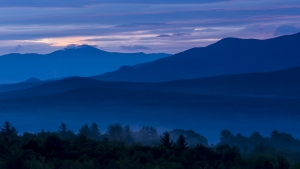 Dawn over Mt Washington