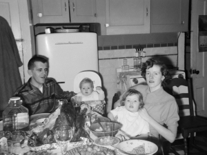 Thanksgiving, 1958