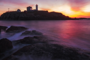 Before Dawn at Nubble Light