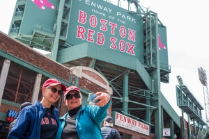 The Fenway Experience: Selfie