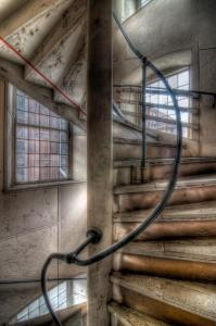 Stone Mill Staircase